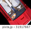 電気自動車のダッシュボードにワイヤレス充電しているスマホとヘッドフォンのイメージ 31917667