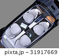 EV コンセプト インパネのイラスト 31917669