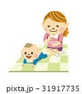 赤ちゃん お母さん はいはいのイラスト 31917735
