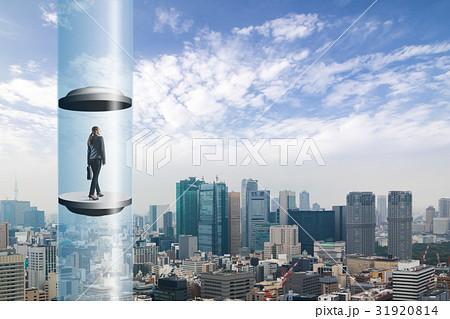 都市とエレベーター 31920814