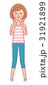 呼びかける女性 31921899