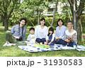 家族 ピクニック 親子の写真 31930583