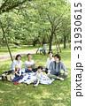 家族 ピクニック 親子の写真 31930615