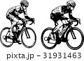 race bicyclists sketch illustration 31931463