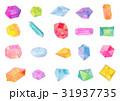 水彩イラスト 宝石 テクスチャー 31937735