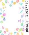 水彩イラスト 宝石 テクスチャー 31937740