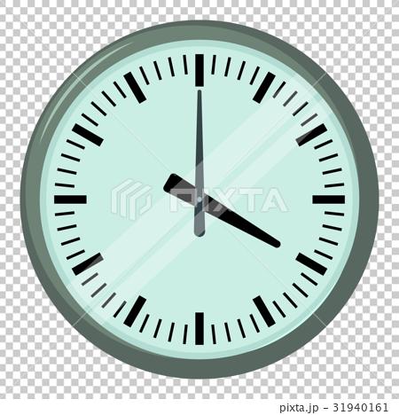 Wall clock icon, cartoon style 31940161
