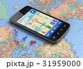 GPS スマートフォン フォンのイラスト 31959000