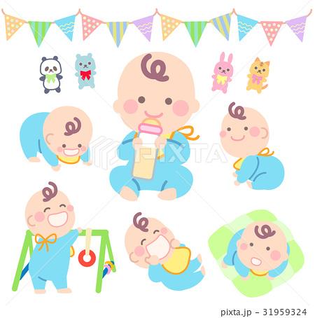 かわいい赤ちゃん 31959324