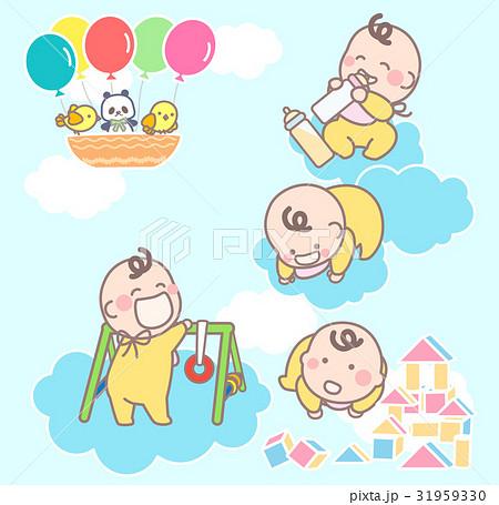 雲にのる赤ちゃん 31959330