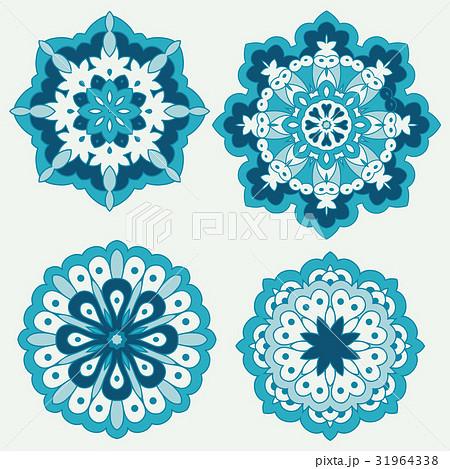 Arabesques. Decorative element. 31964338