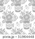 Vintage seamless pattern with a bouquet of flowers 31964448