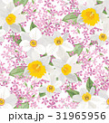 Floral background. Flower bouquet seamless pattern 31965956