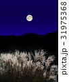 十五夜 満月 中秋の写真 31975368
