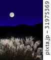 十五夜 満月 中秋の写真 31975369
