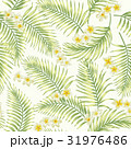 Seamless exotic pattern with tropical leaves. 31976486