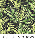 Seamless exotic pattern with tropical leaves. 31976489