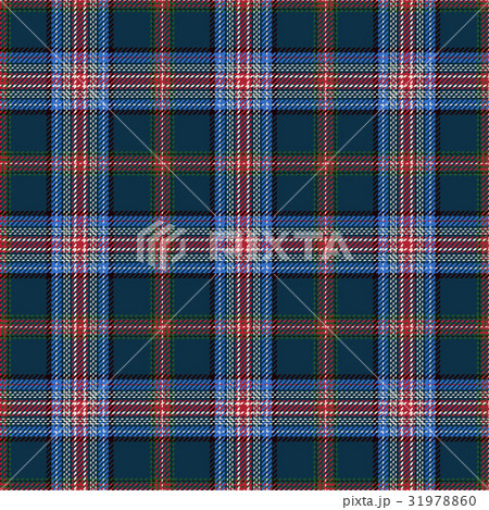 Tartan Seamless Pattern Backgroundのイラスト素材 [31978860] - PIXTA