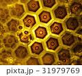 golden honeycomb texture, gold hexagon clusters 31979769