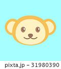 アイコン 動物 挿絵のイラスト 31980390