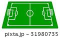 サッカーグラウンド〜サイドビュー 31980735