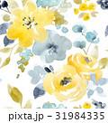 フローラル 花 シームレスのイラスト 31984335