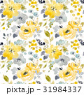 Watercolor floral seamless pattern 31984337