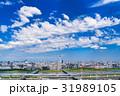 都市風景 青空 初夏の写真 31989105
