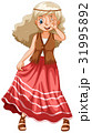 女性 メス 美しいのイラスト 31995892