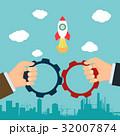 相手 パートナーシップ ビジネスのイラスト 32007874