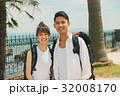 旅行 カップル バックパッカーの写真 32008170