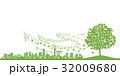 街並み 街 風景のイラスト 32009680