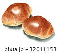 パン バターロール ロールパンのイラスト 32011153