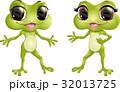 かえる カエル 蛙のイラスト 32013725