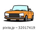 自動車 ベクター オープンカーのイラスト 32017419
