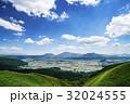 風景 青空 阿蘇の写真 32024555