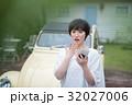 若い女性 カーライフ 32027006