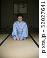 着物を着た女性_旧吉田邸住宅 32027641