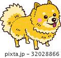 犬 戌 小型犬のイラスト 32028866