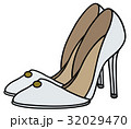 White needle heel shoes 32029470