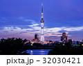 荒川 スカイツリー 東京スカイツリーの写真 32030421