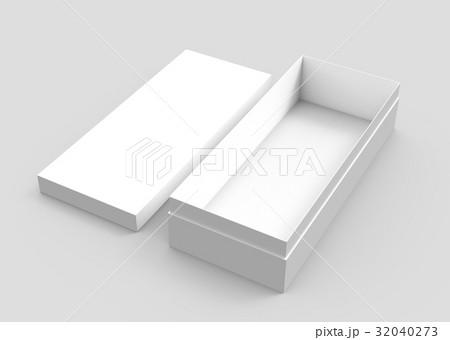 blank paper boxのイラスト素材 [32040273] - PIXTA