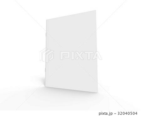blank brochure design 32040504
