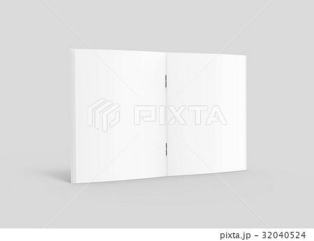 blank brochure designのイラスト素材 32040524 pixta