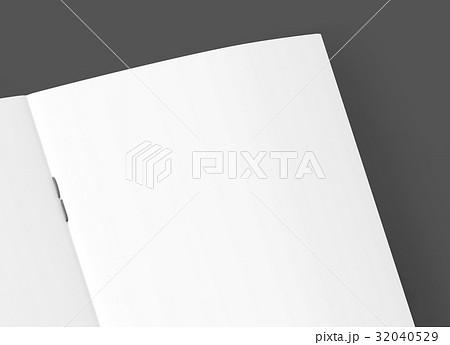 blank brochure designのイラスト素材 32040529 pixta
