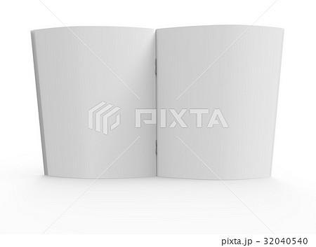 blank brochure designのイラスト素材 32040540 pixta