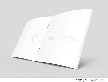 blank brochure design 32040545