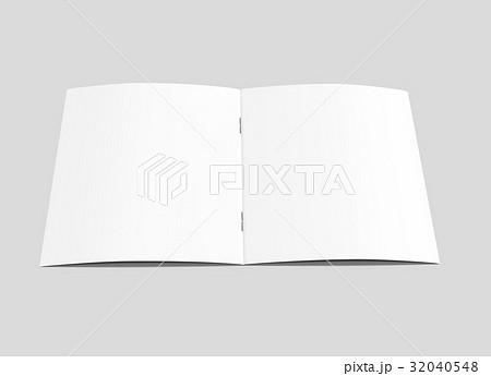 blank brochure design 32040548