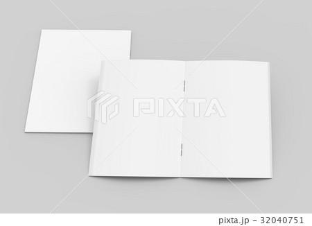 blank brochures design 32040751