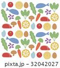 セット バリエーション 食べ物のイラスト 32042027